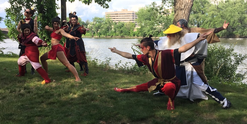 Fire Nation Cosplayers at ConnectiCon XV 2017