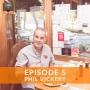 Artwork for #5 - Phil Vickery, Cookbook Author, TV Chef, Pig Farmer