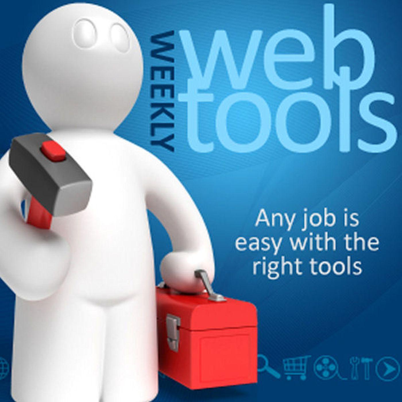 Weekly Web Tools show art