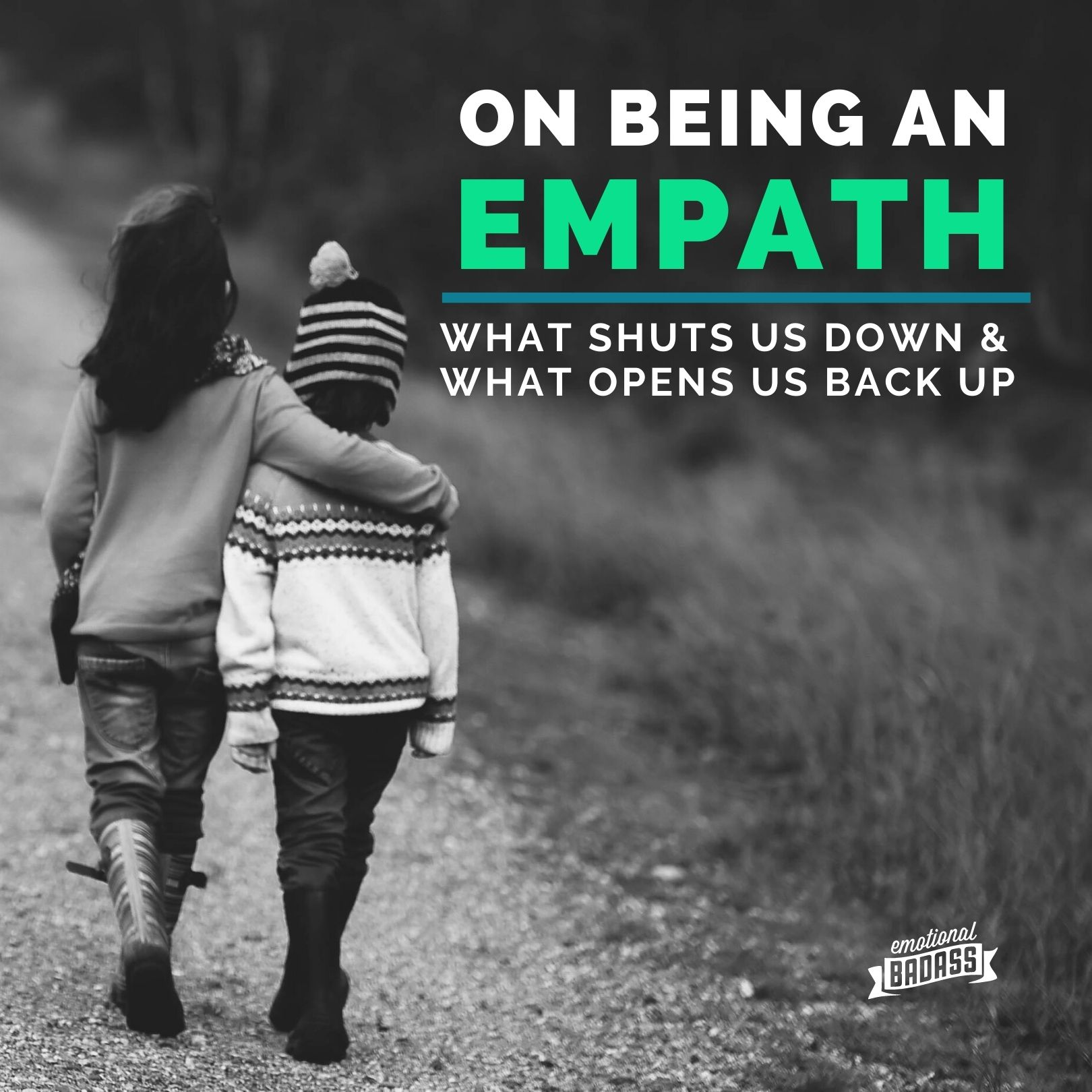 The artistry of being and Empath, finding permission and worth by stepping outside of comfort zones