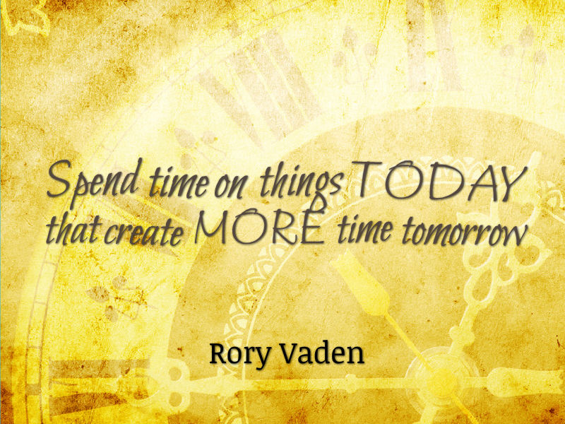 """Become a Time Multiplier"" with Rory Vaden"