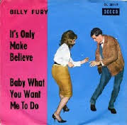 Billy Fury - It's Only Make Believe Time Warp Song of The Day 10/24