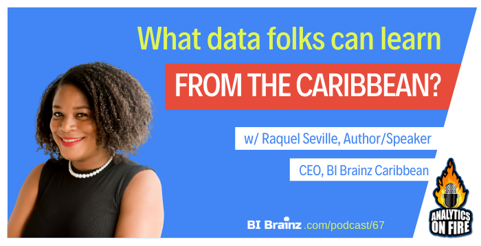 Raquel Seville Analytics on Fire Podcast Artwork
