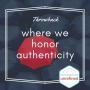 Artwork for Throwback: Where We Honor Authenticity