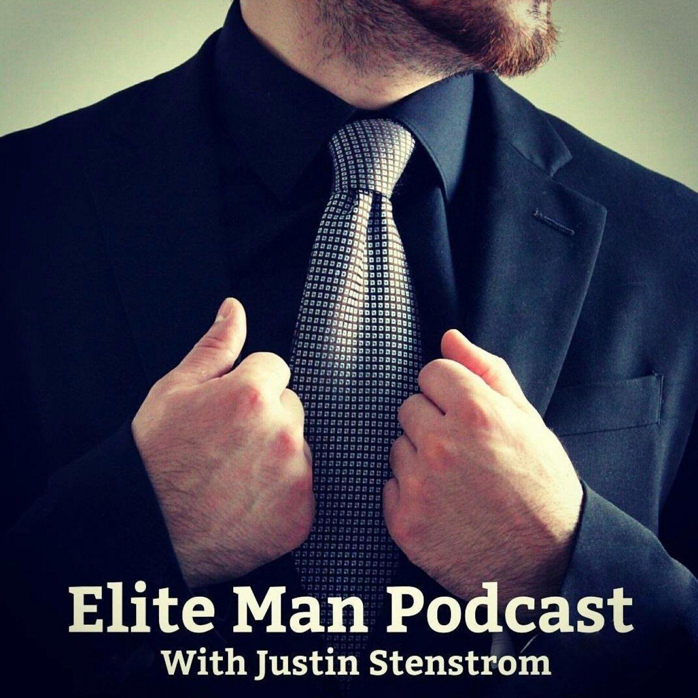 Elite Man Podcast show art