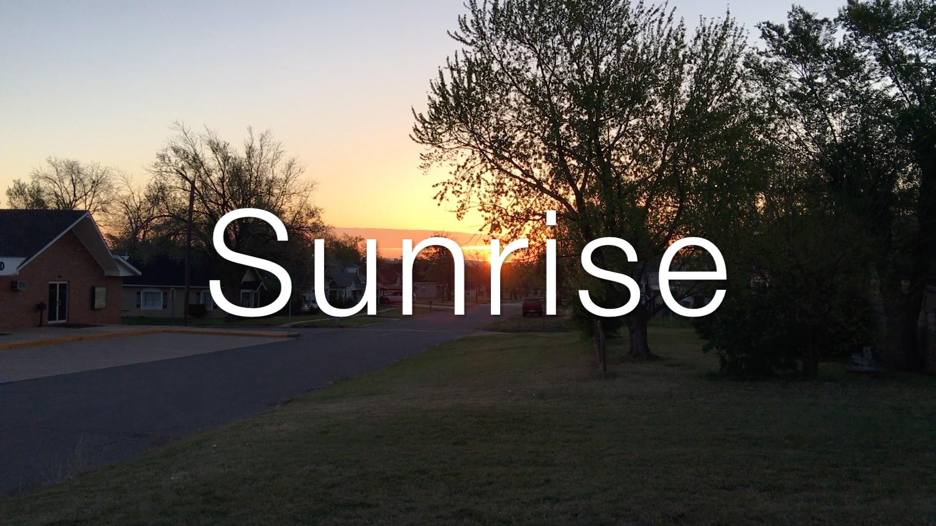 Artwork for Sunrise