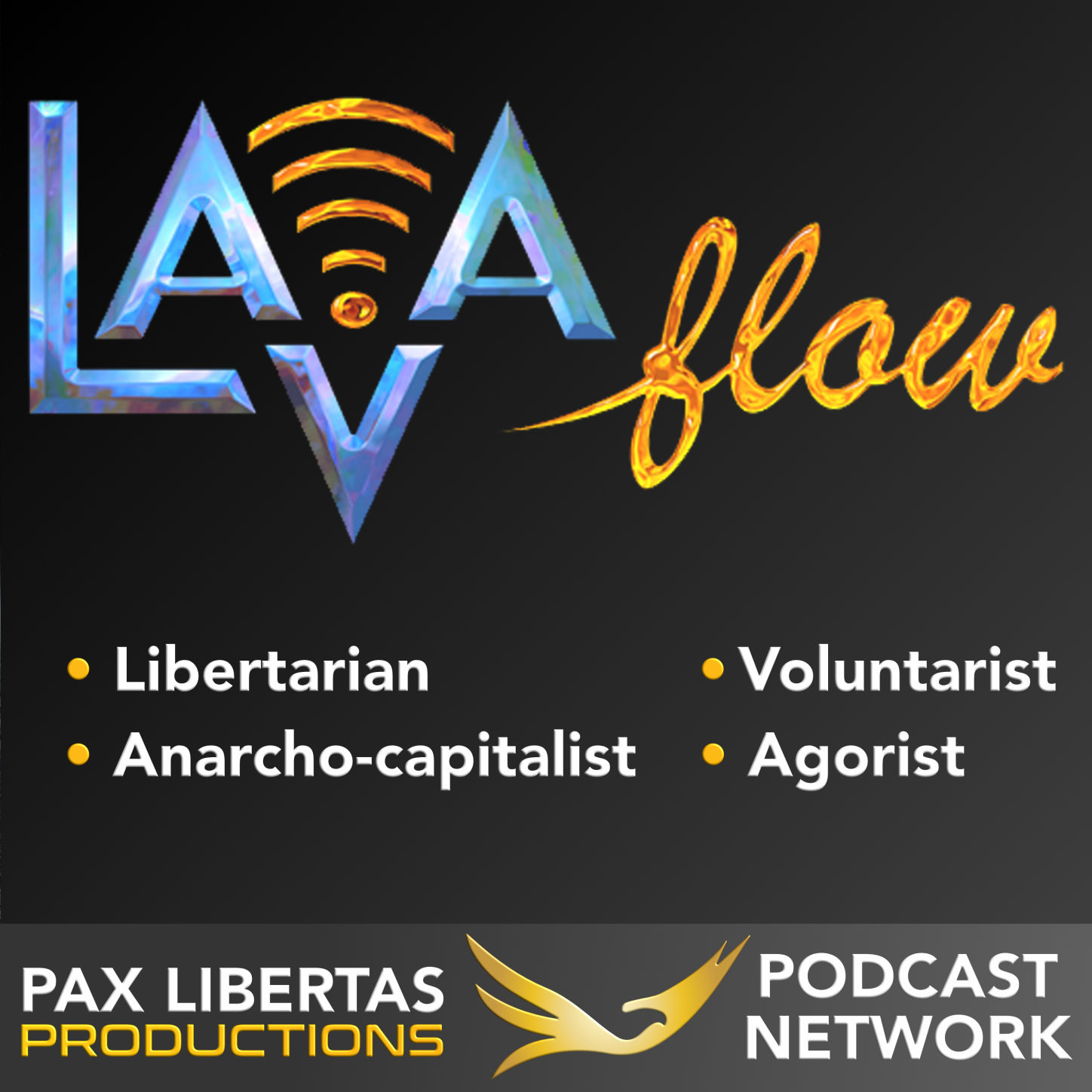 The LAVA Flow | Libertarian | Anarcho-capitalist | Voluntaryist | Agorist show art