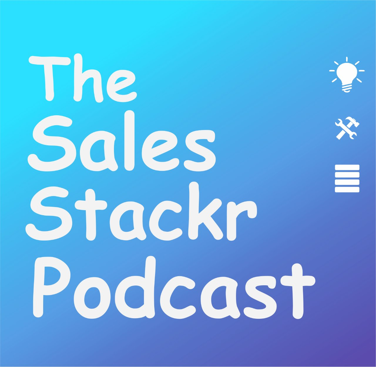 The Sales Stackr Podcast show art