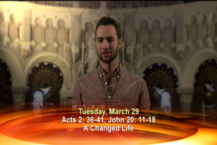 Artwork for Tuesday, March 29th  Today's Topic: A Changed Life