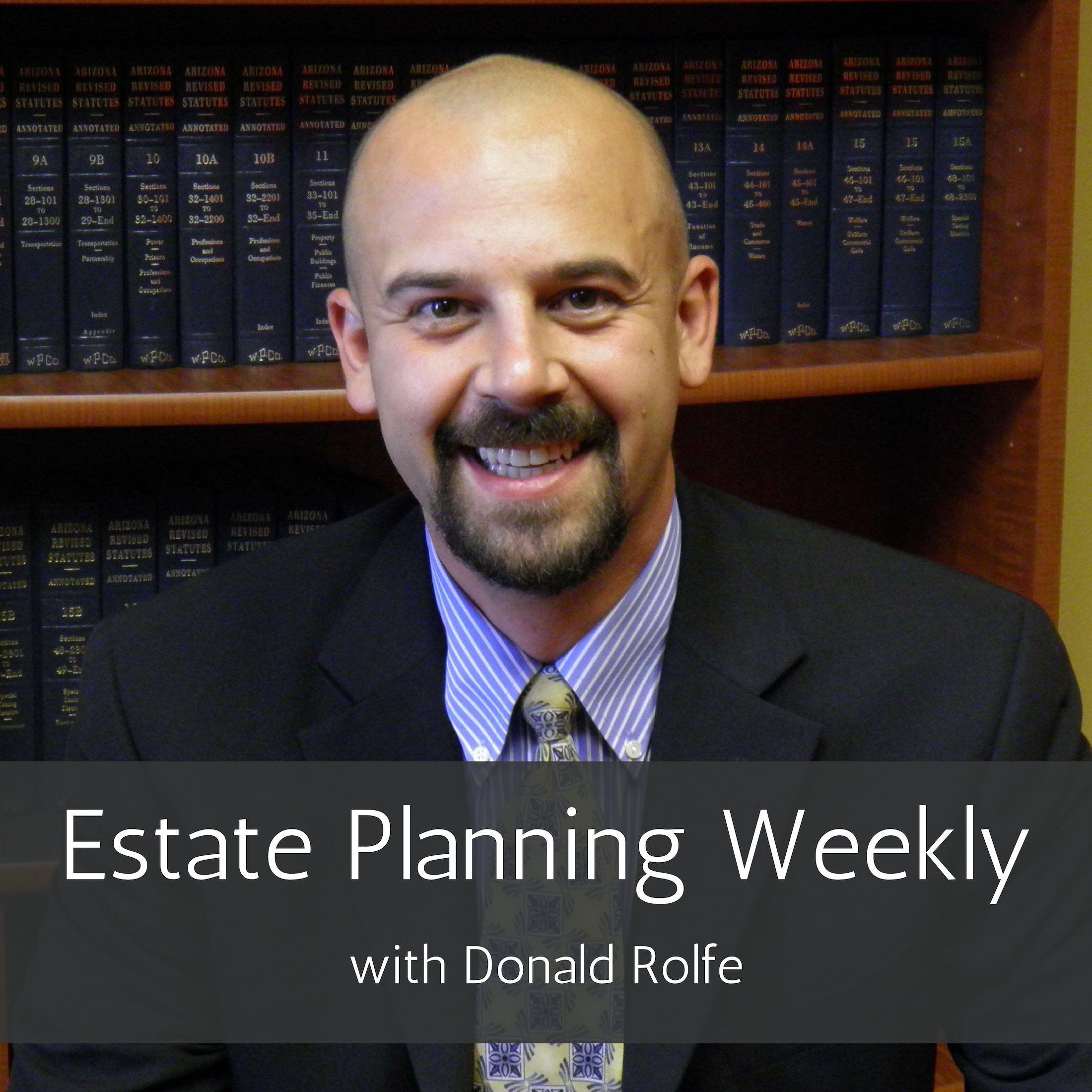 Estate Planning Weekly show art