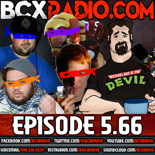 BCXradio 5.66 - Turtle Power!