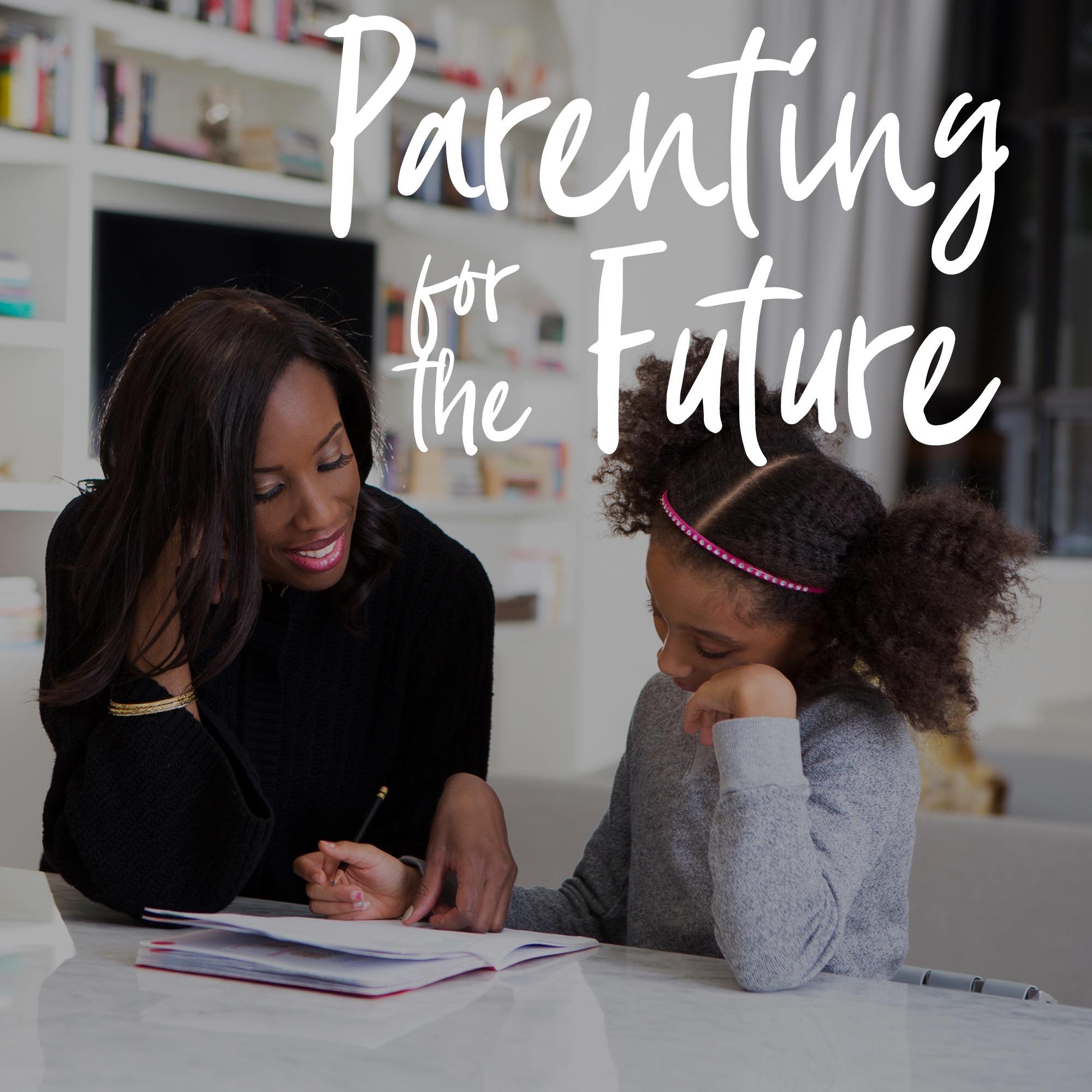 Parenting for the Future show art