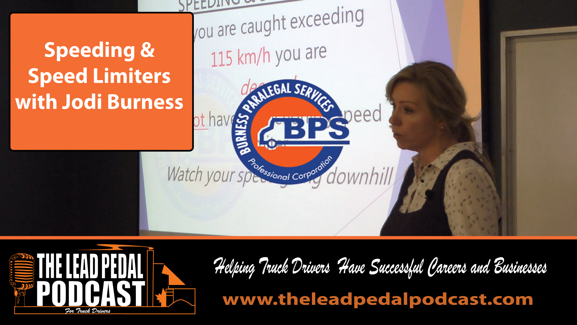 Jodi Burness on speeding