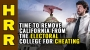 Artwork for Time to REMOVE California from the Electoral College for CHEATING