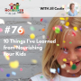 Artwork for TNC 076: 10 Things I've Learned from Nourishing Four Kids
