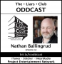 Artwork for The Liars Club Oddcast # 092 | Nathan Ballingrud, Award-Winning Horror and Dark Fiction Author