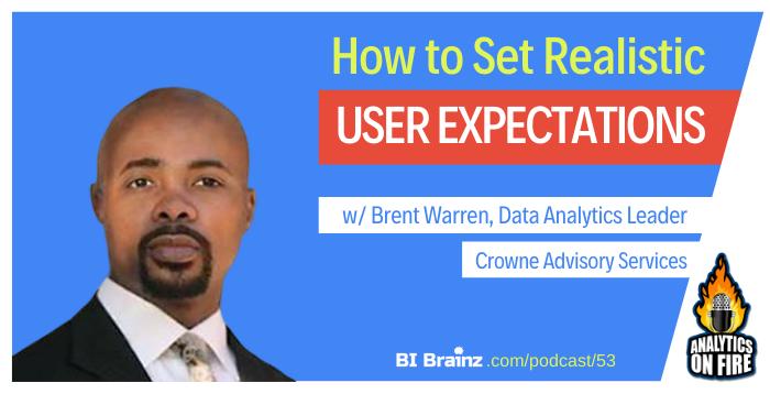Brent Warren Analytics on Fire Podcast Artwork