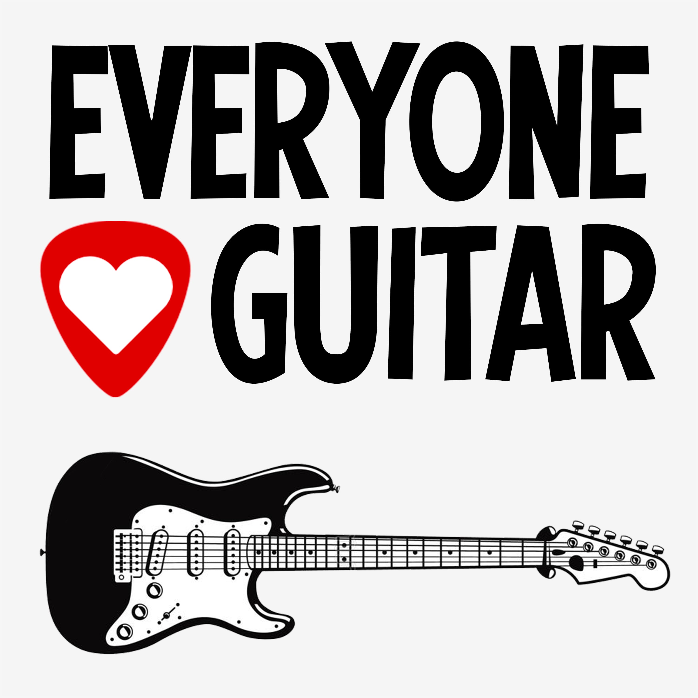 Everyone Loves Guitar show art