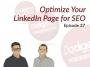 Artwork for Dodgeball Marketing Podcast #27: Optimize Your LinkedIn Page for SEO