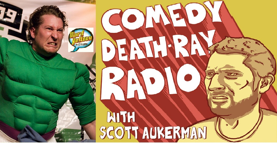 Comedy Death Ray Hits C2E2 !