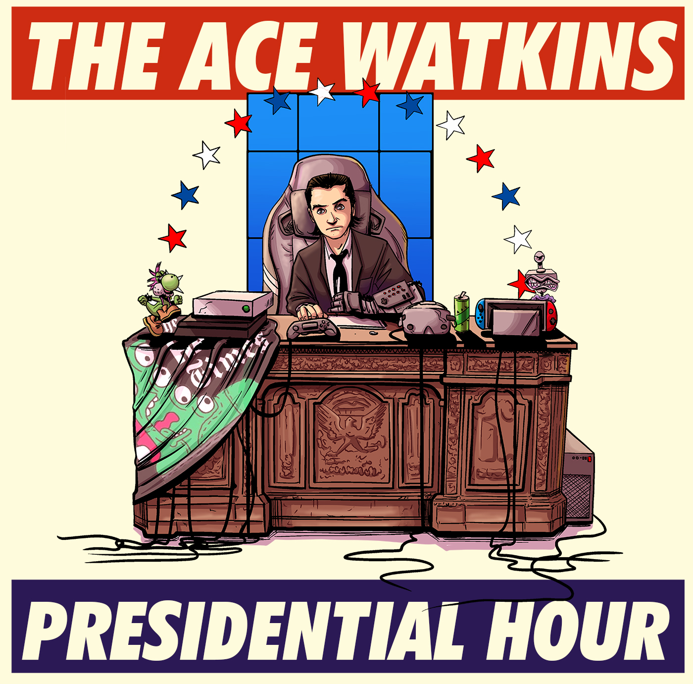 The Ace Watkins Presidential Hour show art