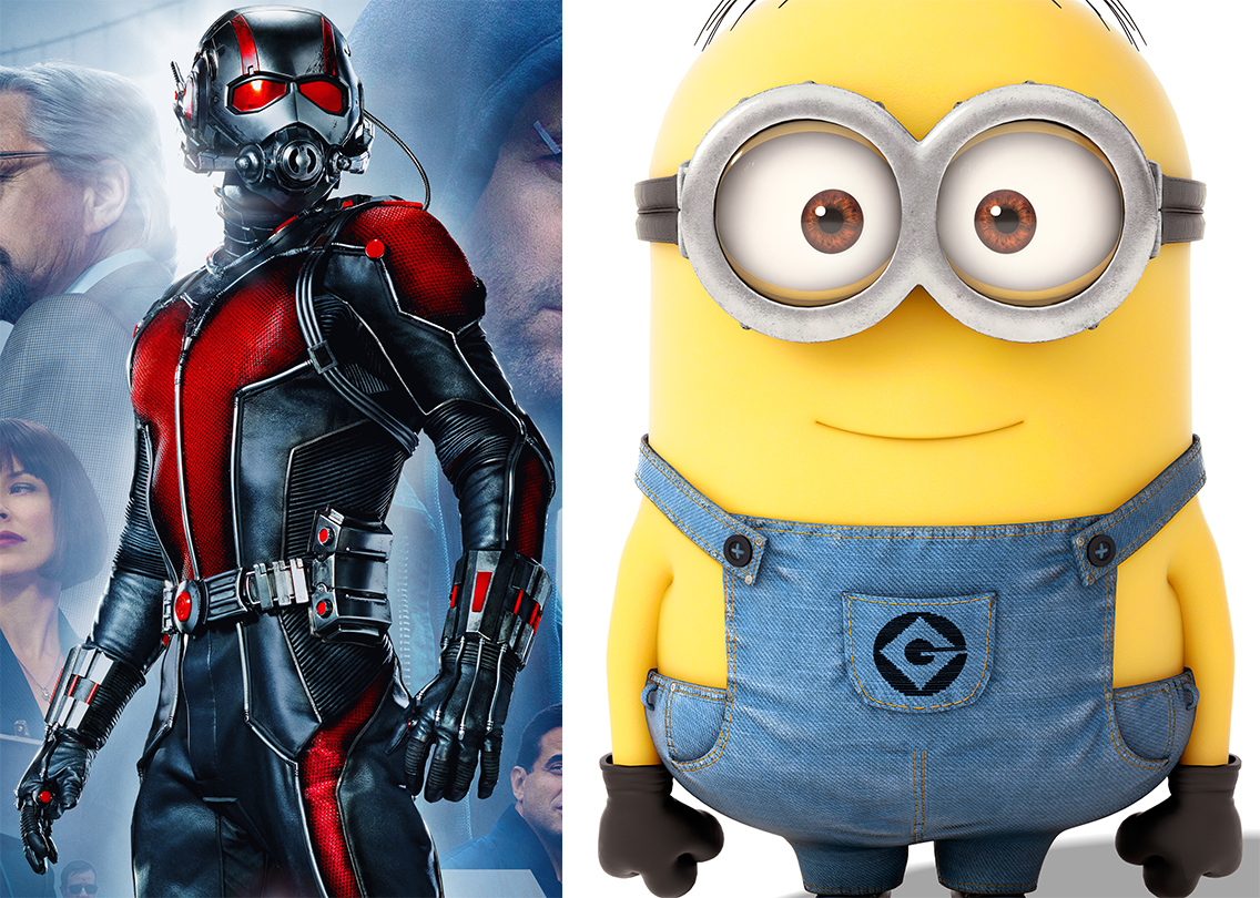 AoH At The Movies: Ant-Man and Minions
