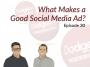 Artwork for Dodgeball Marketing Podcast #30: What Makes a Good Social Media Ad?