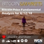 Artwork for Bitcoin Price Fundamentals Analysis for 8/12/2018