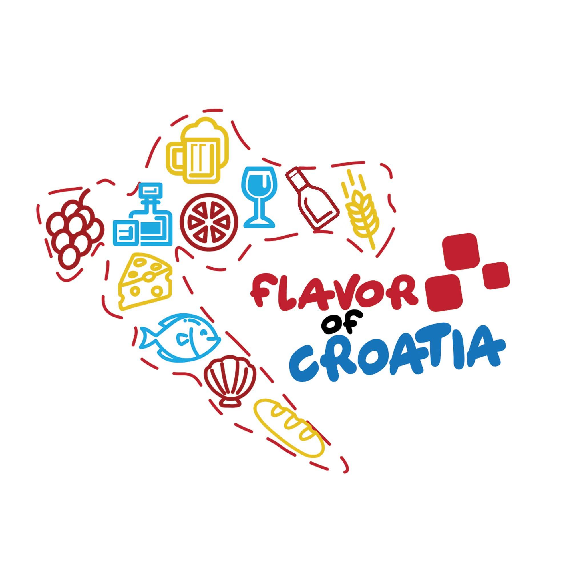 Flavor of Croatia Podcast show art