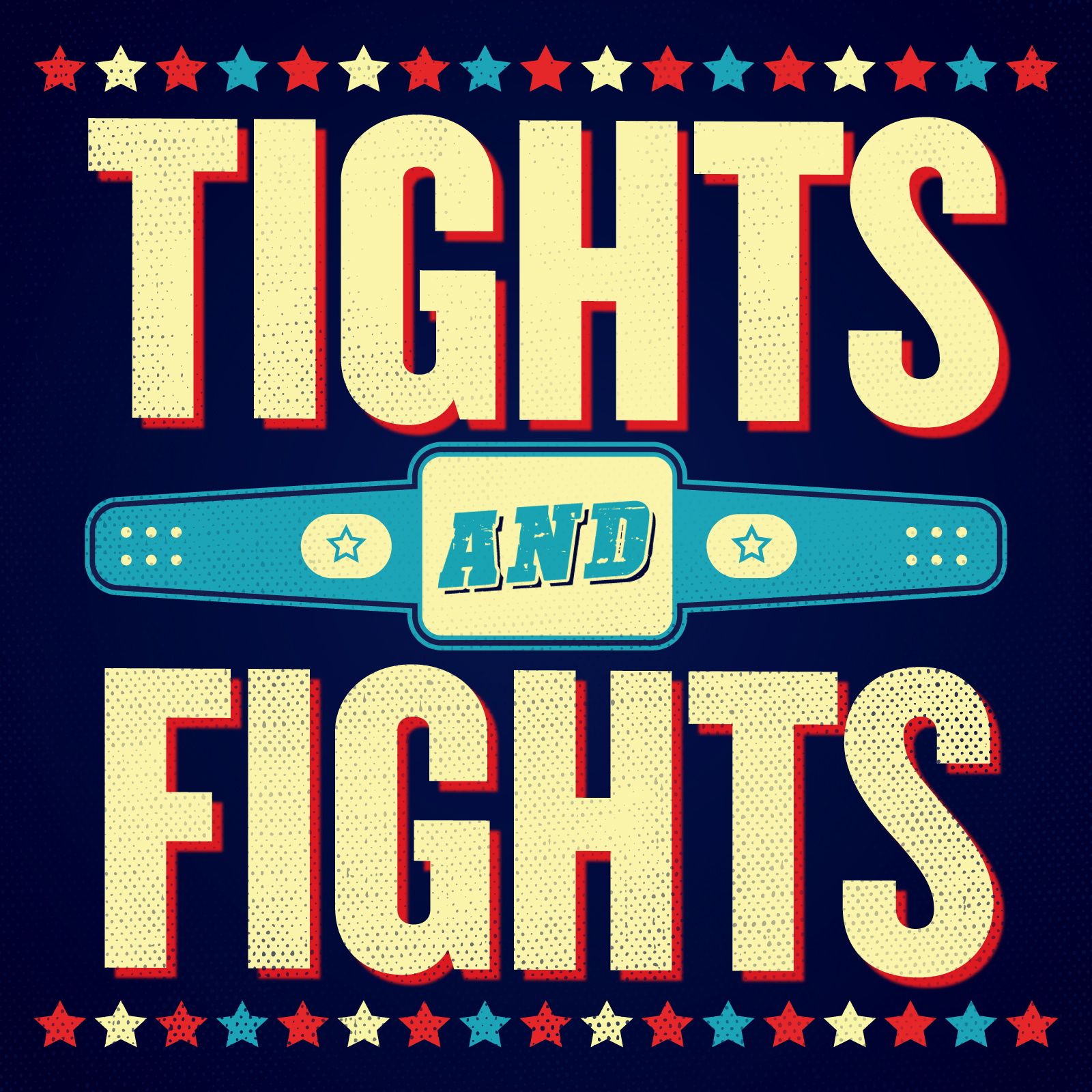 Tights and Fights show art
