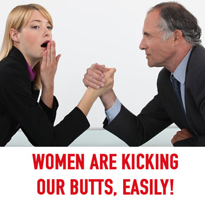 Episode #86: Men It's Time to Stand Up because Women Have Been Kicking our Butts...