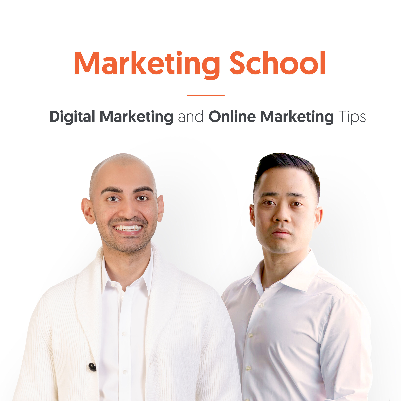 Marketing School - Digital Marketing and Online Marketing Tips show art