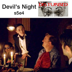 s5e4 Devil's Night - Disturbed: The American Horror Story Hotel Podcast