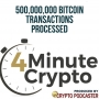 Artwork for 500,000,000 Bitcoin Transactions Processed