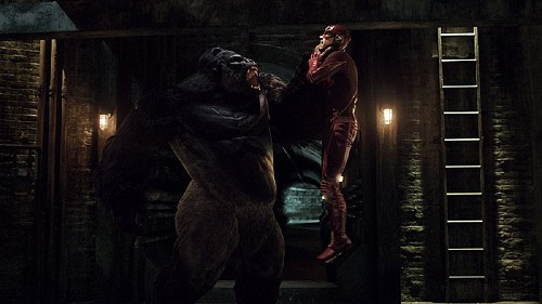 Crimson Comet #25 The Flash 1x21 Grodd Lives