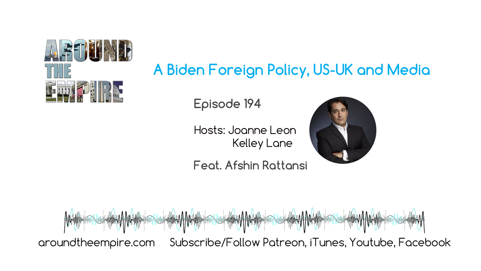 Ep 194 A Biden Foreign Policy, US/UK and Media feat Afshin Rattansi