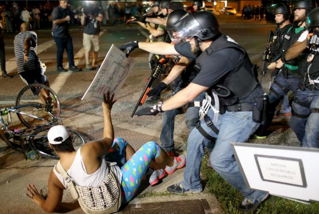 Ferguson Unmasks the War on Black America