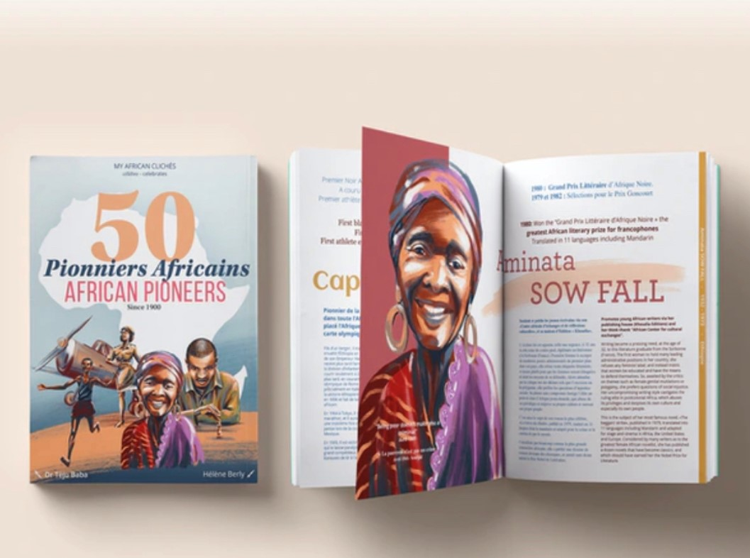 """Show us your love: order a copy of your """"50 African pioneers book""""!"""