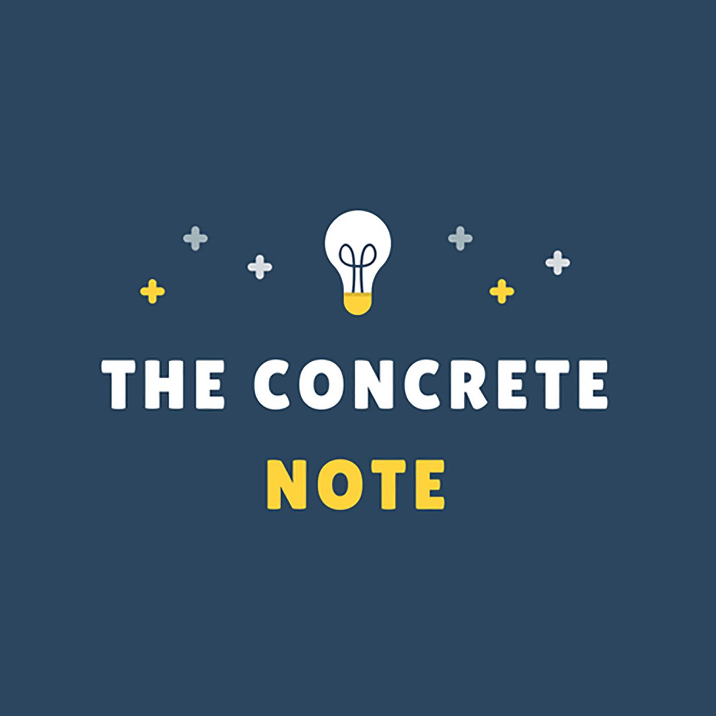 The Concrete Note show image