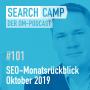 Artwork for SEO-Monatsrückblick Oktober 2019: Tool-Updates, BERT, Link Velocity + mehr [Search Camp Episode 101]