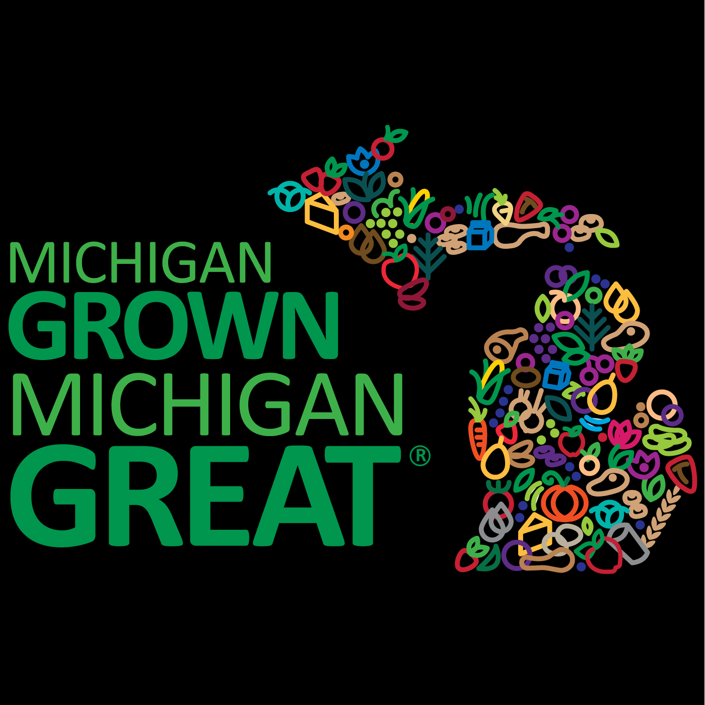 Michigan GROWN, Michigan GREAT podcast show art