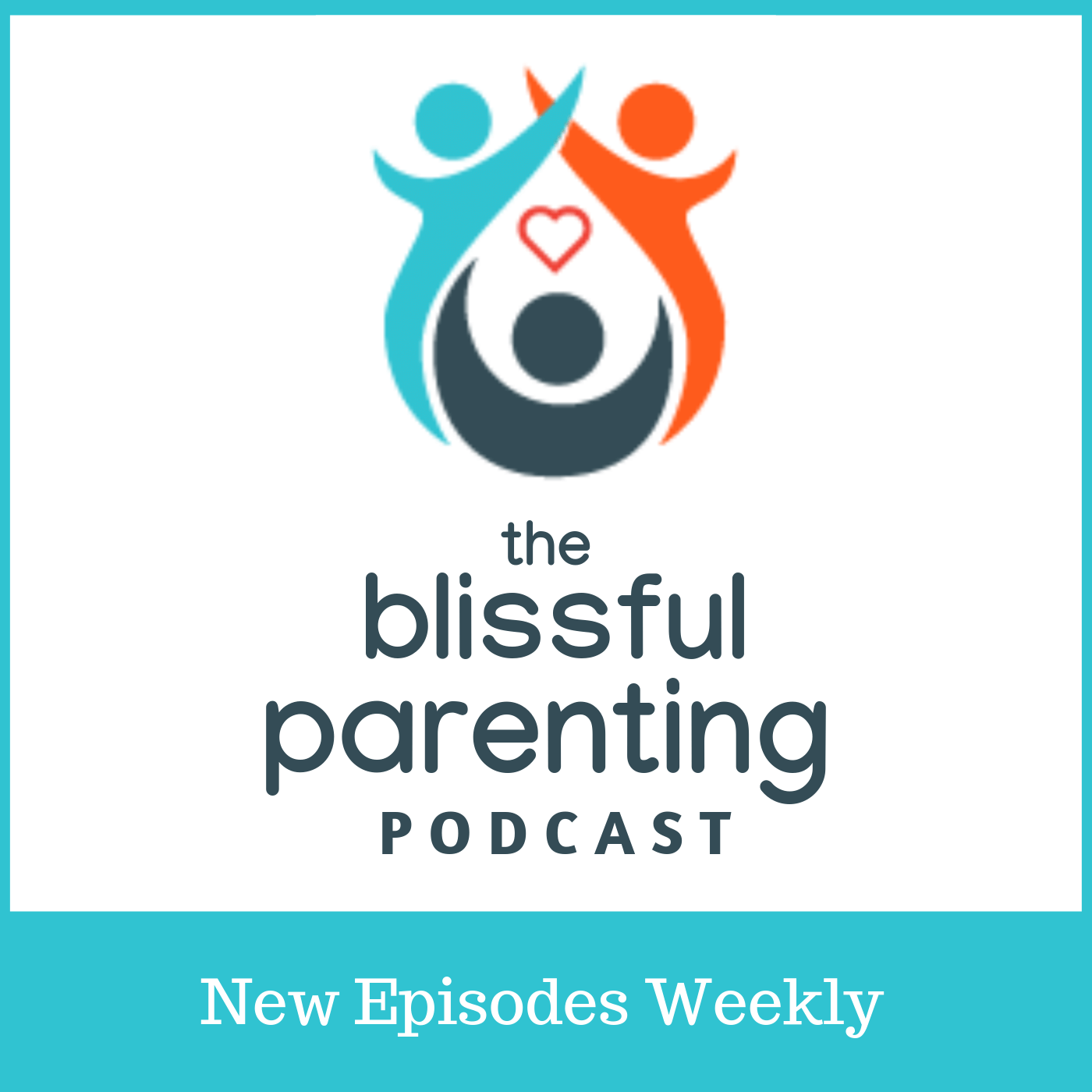 The Blissful Parenting Podcast show art
