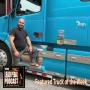 Artwork for LP685 Featured Truck of the Week - Custom Blue Volvo