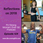 Artwork for Reflections on 2018 with Diane Berkley and Juel Fitzgerald
