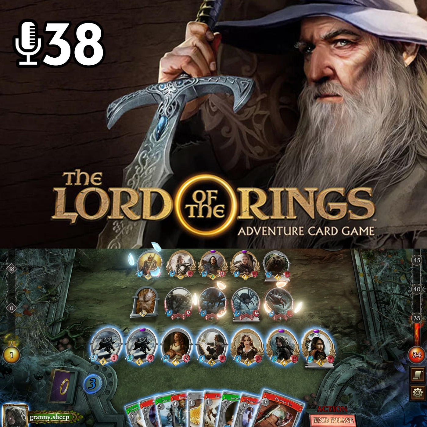 Epizoda 38 - Lord of the Rings: Adventure Card Game