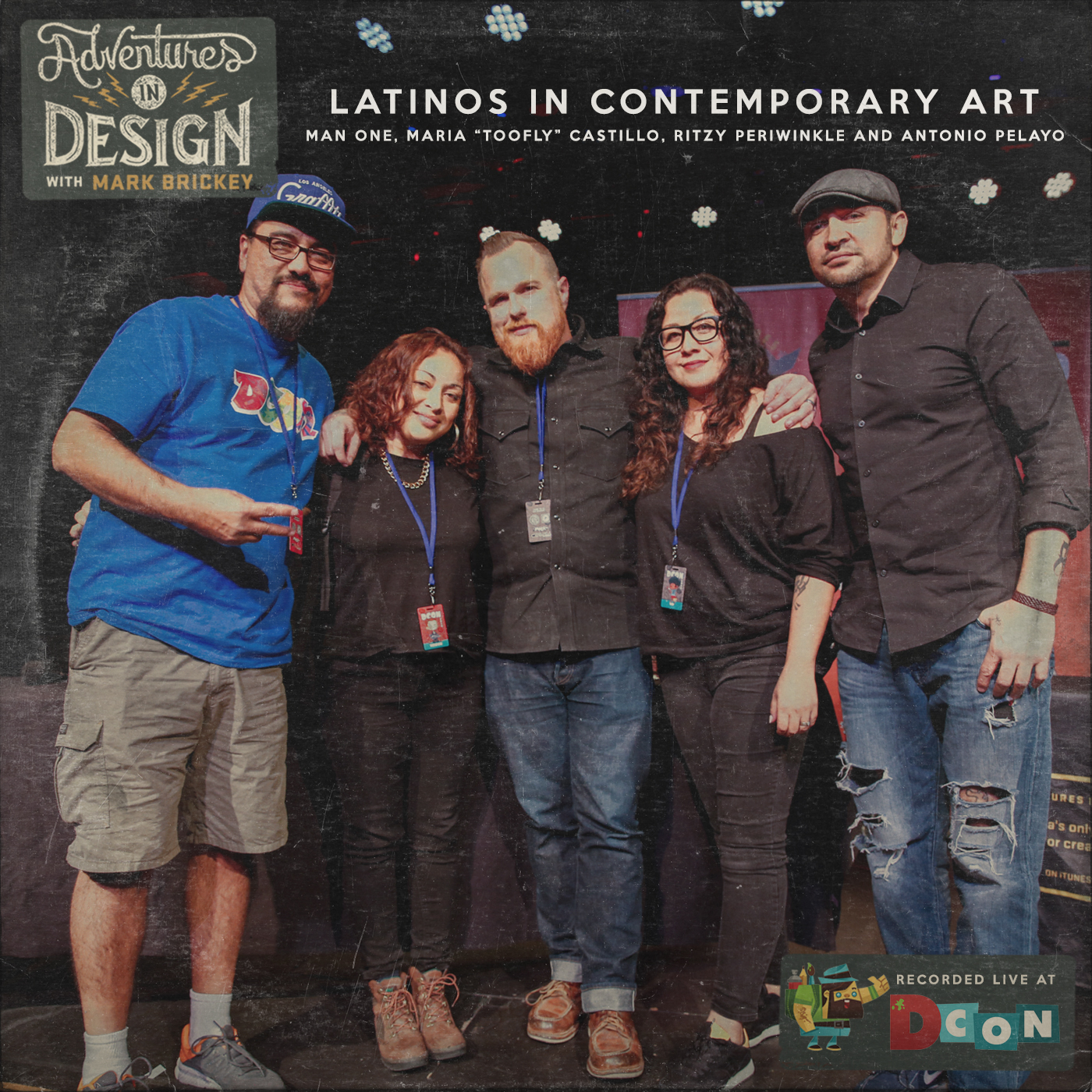 493 - Latinos In Contemporary Art with Man One, Maria