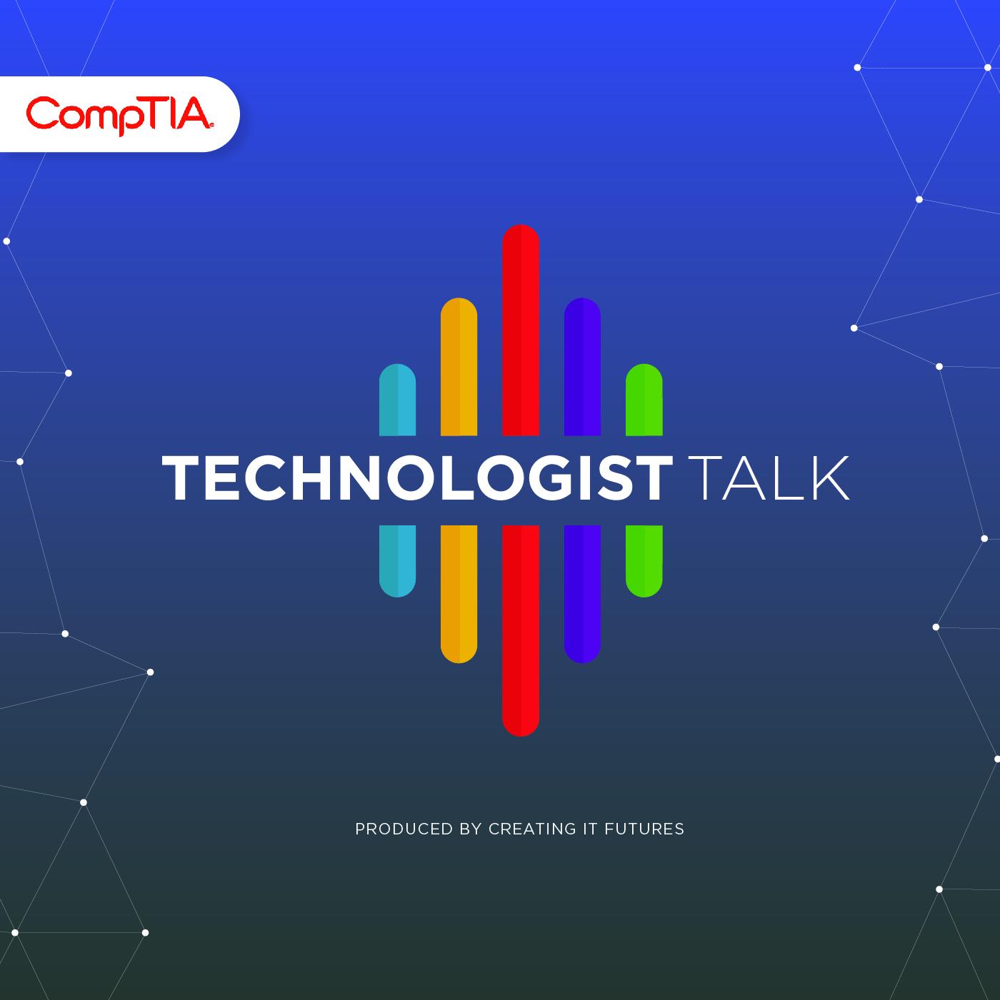 Technologist Talk show art