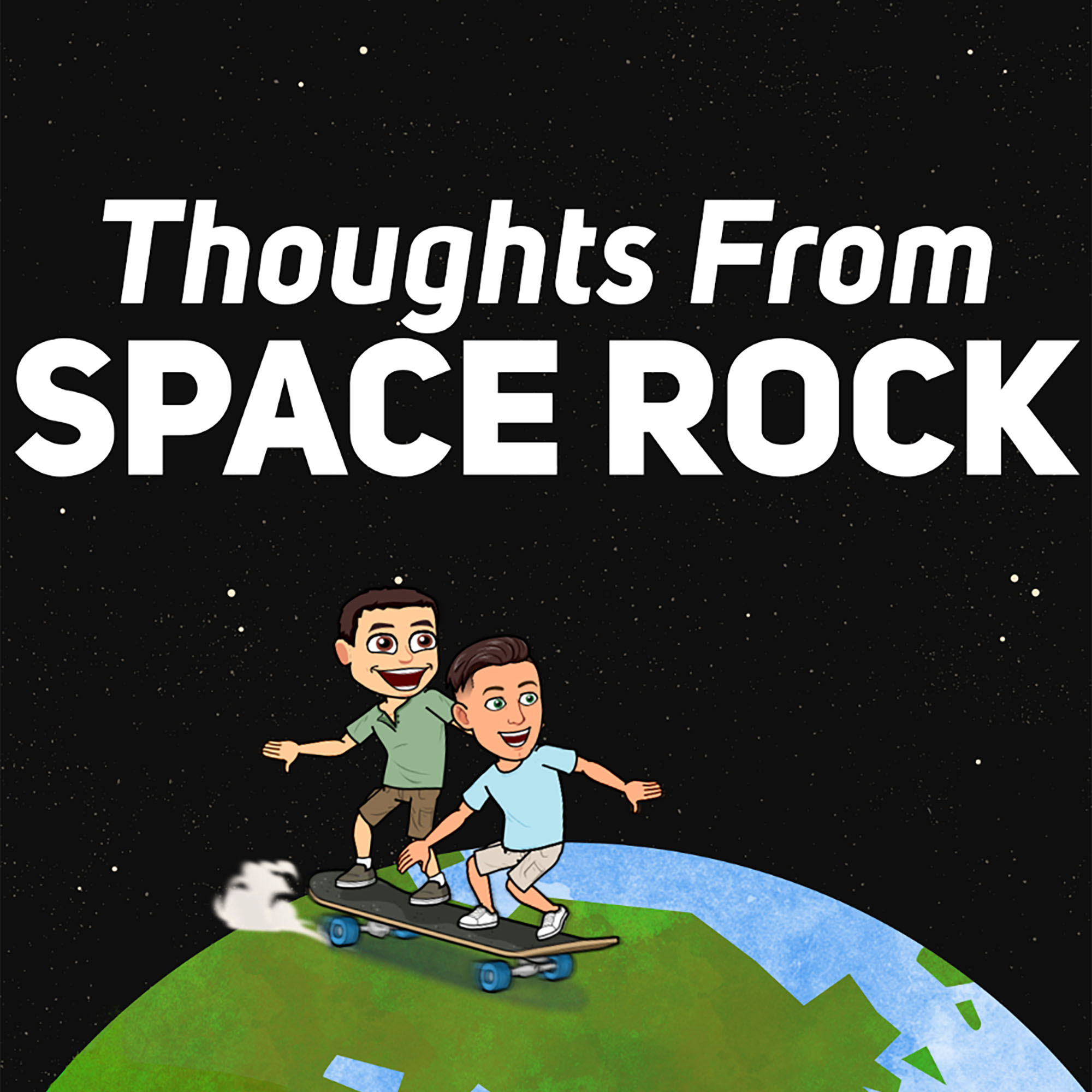 Thoughts from Space Rock show art