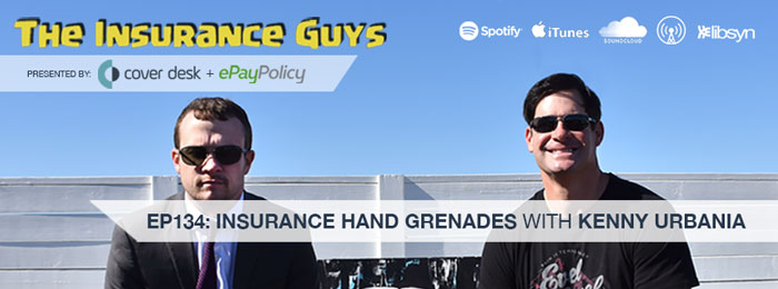 Kenny Urbania on Insurance Guys Podcast