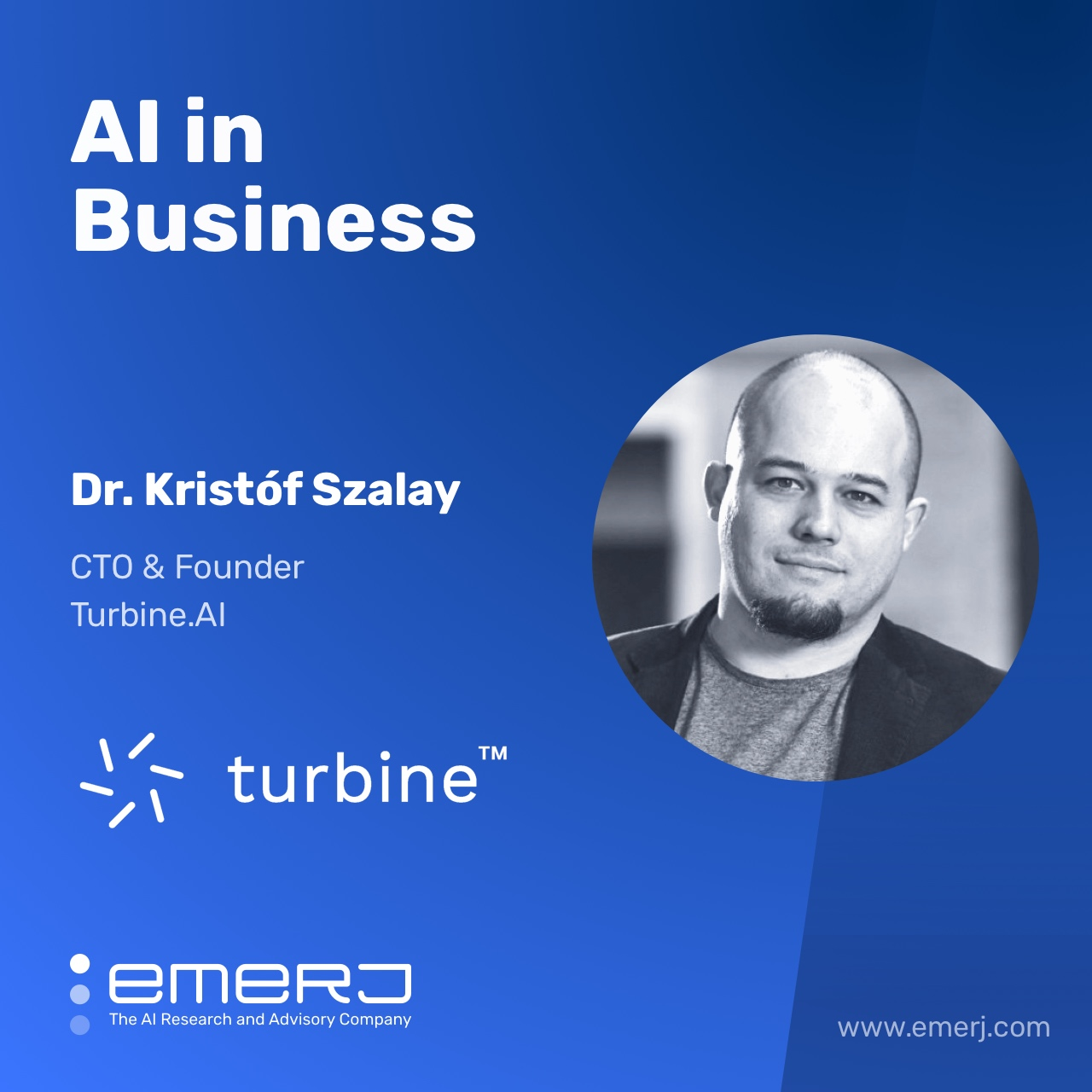 The Challenges of Bringing AI into the Pharmaceutical Industry - with Kristof Szalay of Turbine.AI